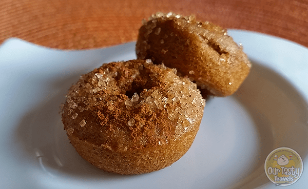 Belizean Brown Sugar Donuts http://ourtastytravels.com/recipe/belizean-brown-sugar-mini-donuts/ #recipe #belize #donuts #ourtastytravels #cayetobelize