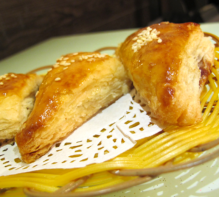Apple and BBQ Pork Pastry http://ourtastytravels.com/blog/dimdimsum-dim-sum-hong-kong/ #dimsum #hongkong #ourtastytravels