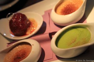 Photo of the Week: Trio of Creme Brulee
