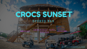 New Bars in Belize: Crocs Sunset Sports Bar Soft Opening in San Pedro