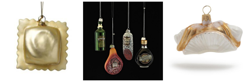 Italian ornaments - Italian Food Ornaments