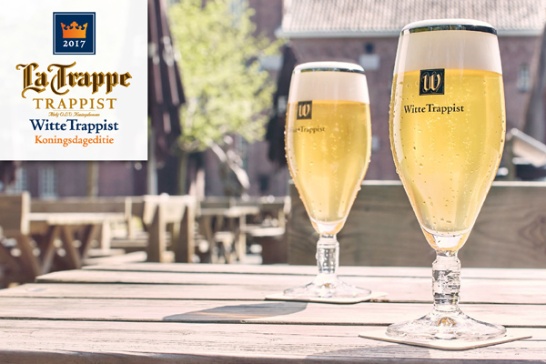 La Trappe Witte Mandarina Bavaria - a special edition of La Trappe Witte that is brewed in honor of the 50th Anniversary of King Willem-Alexander of The Netherlands.