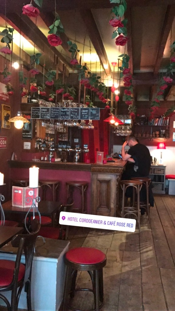Cafe Rose Red, Brugge, Belgium