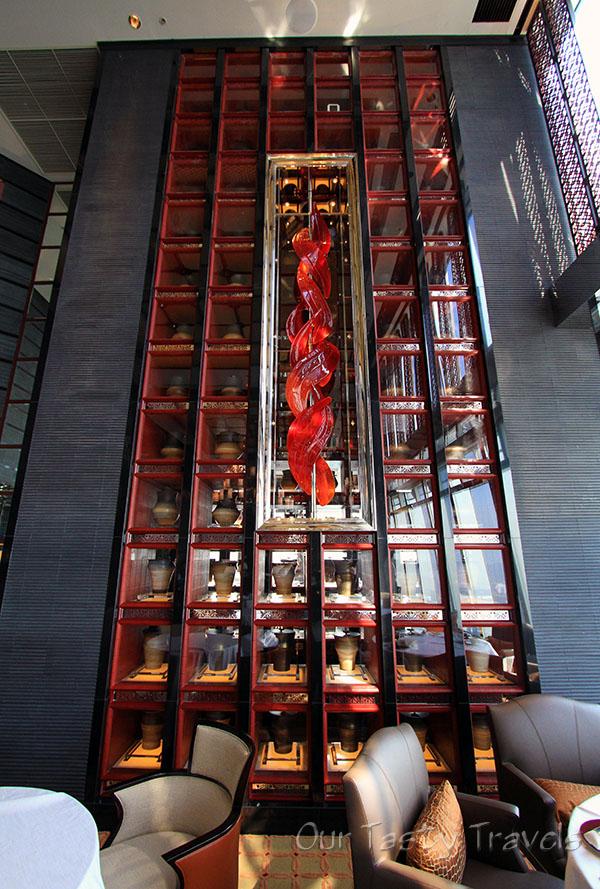 Tin Lung Heen Tea Room  http://ourtastytravels.com/restaurants/tin-lung-heen-cantonese-dim-sum-at-the-ritz-carlton-hong-kong/ #ourtastytravels