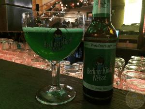 Berliner Kindl Weisse mit Schuss Waldmeister by Berliner-Kindl-Schultheiss-Brauerei – #OTTBeerDiary Day 331