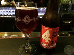 Hausmarke 4: Flanders Red by Brauwerk – #OTTBeerDiary Day 366