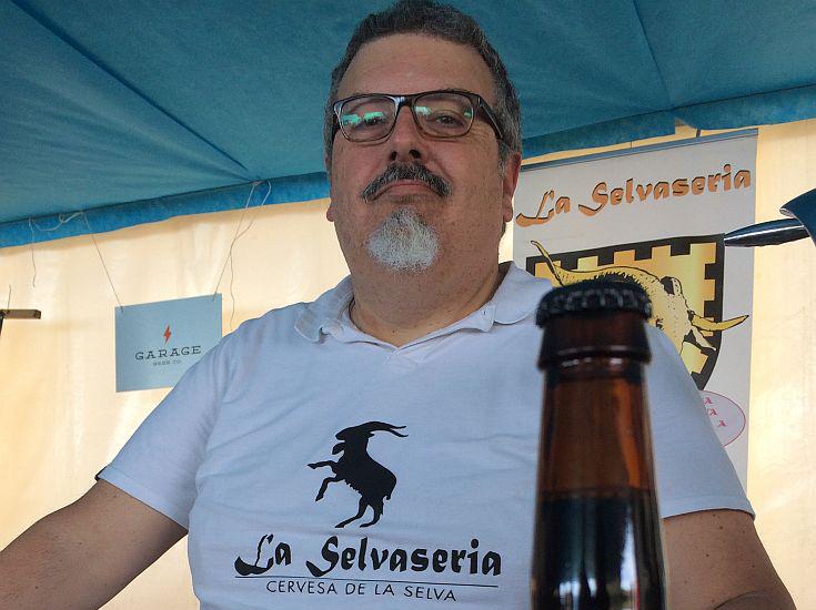 Jordi Pomar of La Selvaseria of Vidreres, Girona in Catalunya