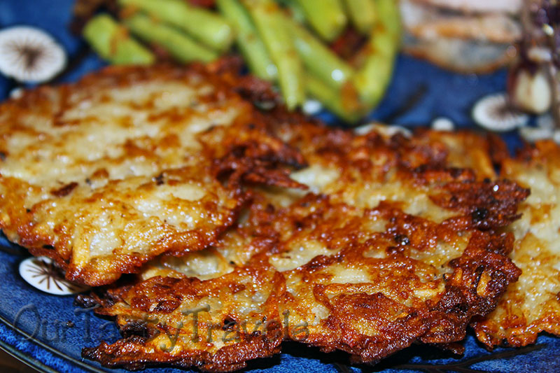 Potato Latkes are Traditional Jewish Cuisine Served During Hanukkah http://ourtastytravels.com/blog/hanukkah-recipes-potato-latkes/ #recipe #hanukkah #ourtastytravels