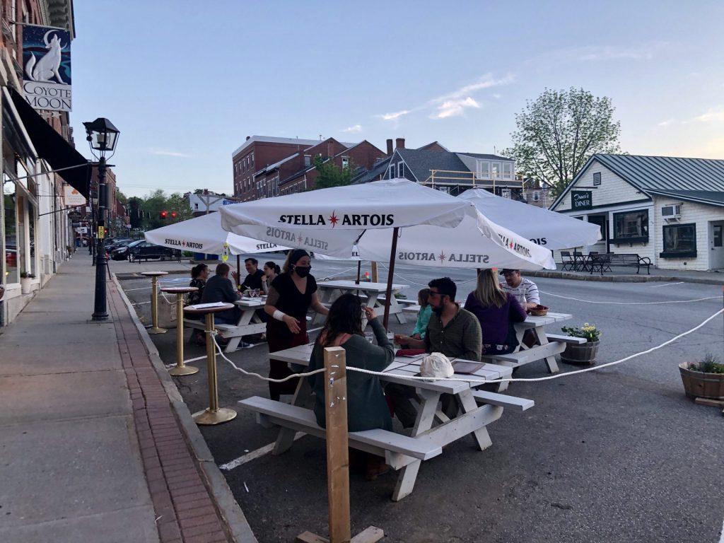 Delvino's Italian Restaurant in Belfast Maine