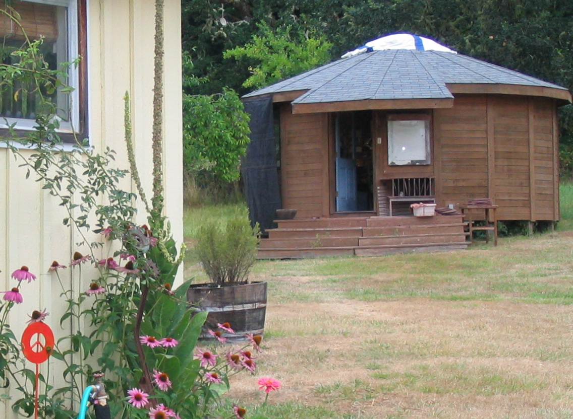 studio yurt, our town pottery