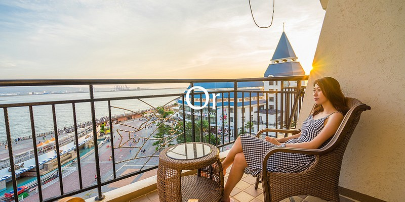 [台北淡水|渡假飯店] 坐擁絕美夕陽美景,不用出國也能享有島嶼國家的度假氣息-福容大飯店淡水漁人碼頭店