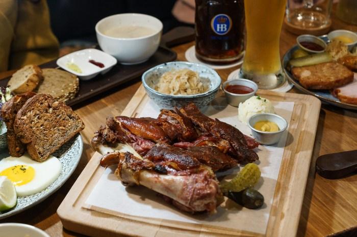 南京復興美食推薦|Schumann's Bistro No. 6舒曼六號餐館南京店:想品嘗道地又好吃的德國豬腳不用想了,直接來這吧!還有德國皇家等級的生啤酒可搭配,多人聚餐首選