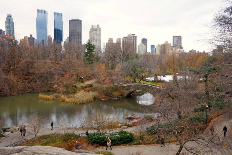 central park efterår