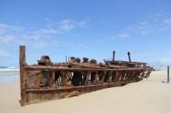 Maheno laevavrakk otse rannal