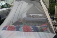 Meie luksusöömaja ja sellise paksu teki all oligi mul külm