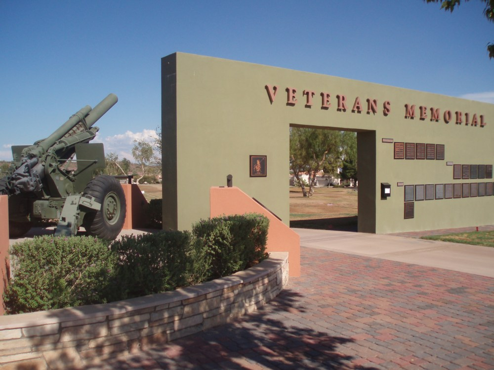 Veterans Memorial at Fountain Park in Fountain Hills, Arizona