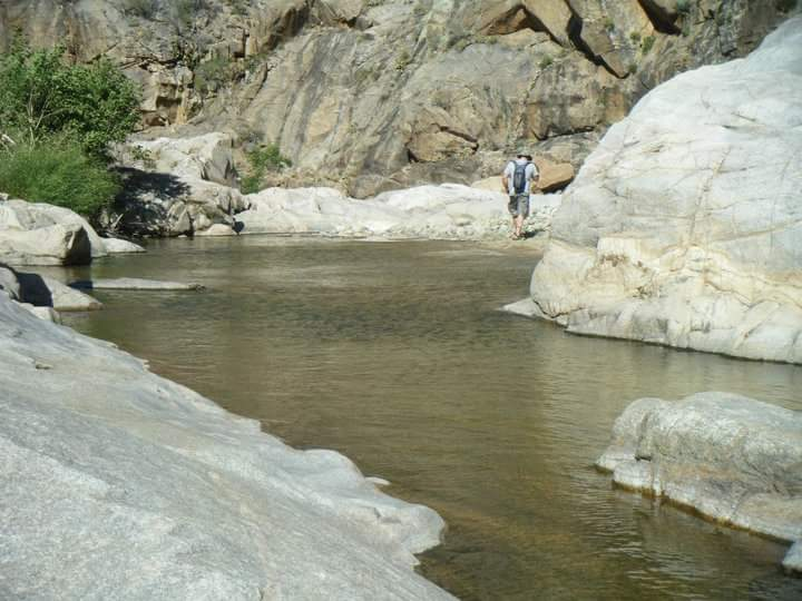 You'll be wet when you leave this canyon, enjoy it because the hike out can be brutally hot