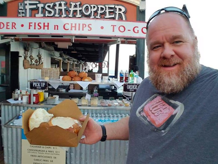 The Fish Hopper on Cannery Row is known for its creamy delicious clam chowder served in warm, soft sour dough bread bowls