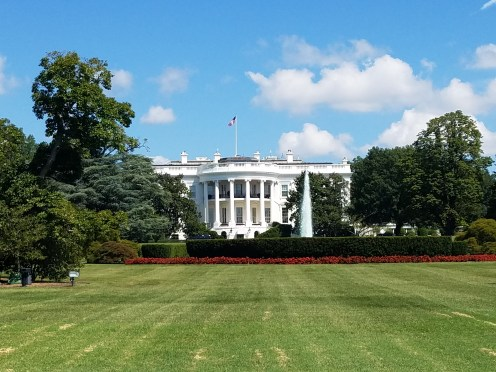 The White House from the Rear