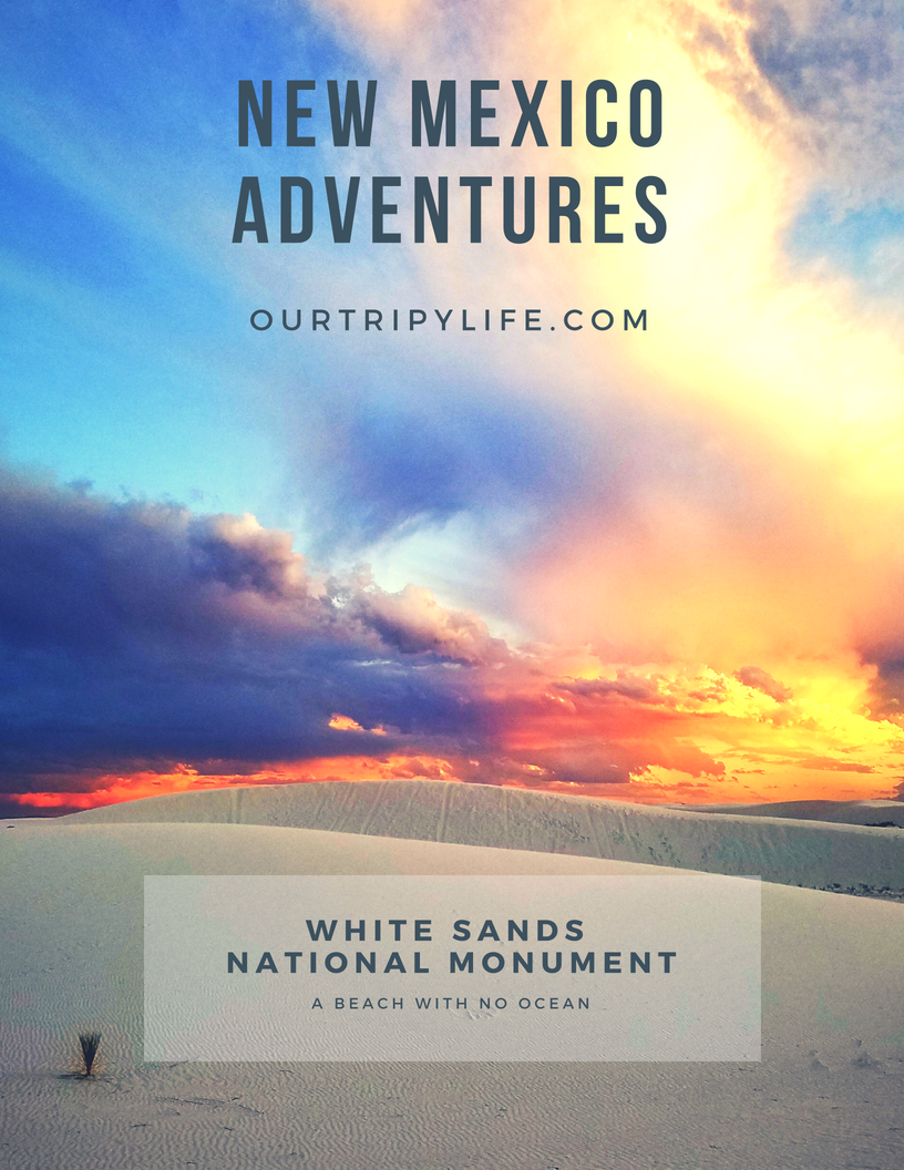 New Mexico Adventures - White Sands National Monument in New Mexico