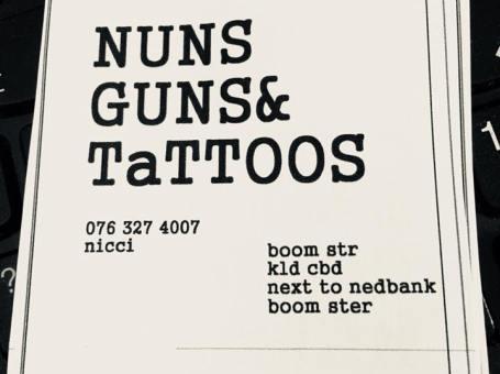 NUNS AND GUNS TATTOO STUDIO
