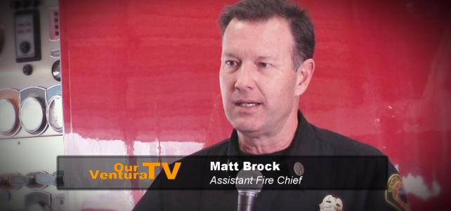 Matt Brock, Ventura Fire Dept