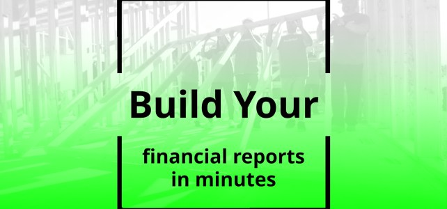 Build Your Financial Reports (18sec)