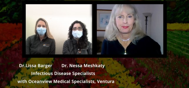 Dr. Lissa Barger and Dr. Nessa Meshkaty