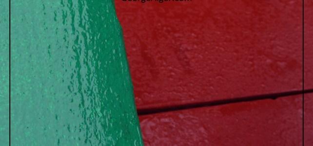 Contemplations in Raindrop Green