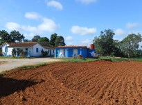 Houses of the tobacco farmer we visited.