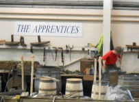 It takes about 4 years to get through apprentice level.