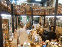 Used book store was formerly a church. We could have spent all day there!