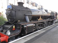 The Jacobite steam train runs day trips. We were sorely tempted to go...