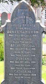 Grave stones hold an enormous amount of genealogical information.