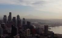 Mt. Rainier in the distance.