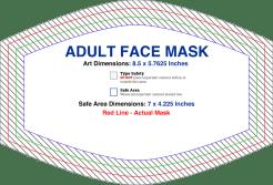 Custom Face Mask Design Specs