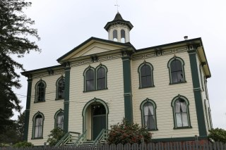 Potter School established 1873 now a private home