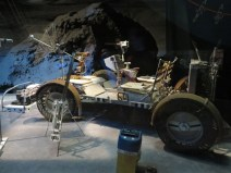 Unfolding Lunar Roving Vehicle