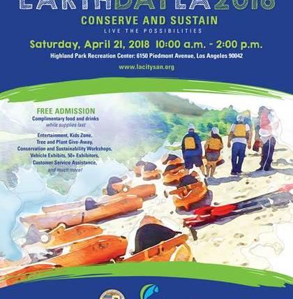 Earth Day LA 2018: Conserve and Sustain