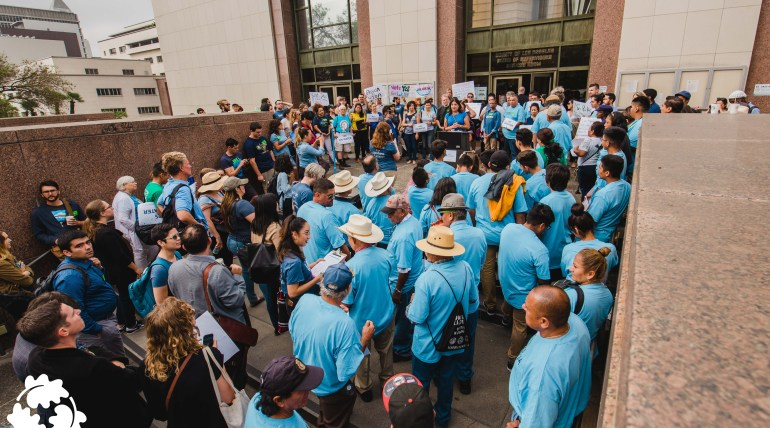 OurWaterLA Rally