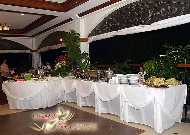 Buffet Table Setting Wedding Reception | www.microfinanceindia.org
