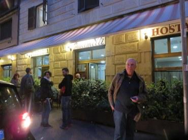 Ric at Pizzeria Giacomelli, in Prati. We'll stick with La Pratolina.