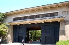 Sengen-yagura Turret, protects the Ote-guchi entrance
