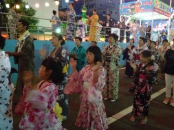 Bon-dancing - street dancing, Ichinomiya style
