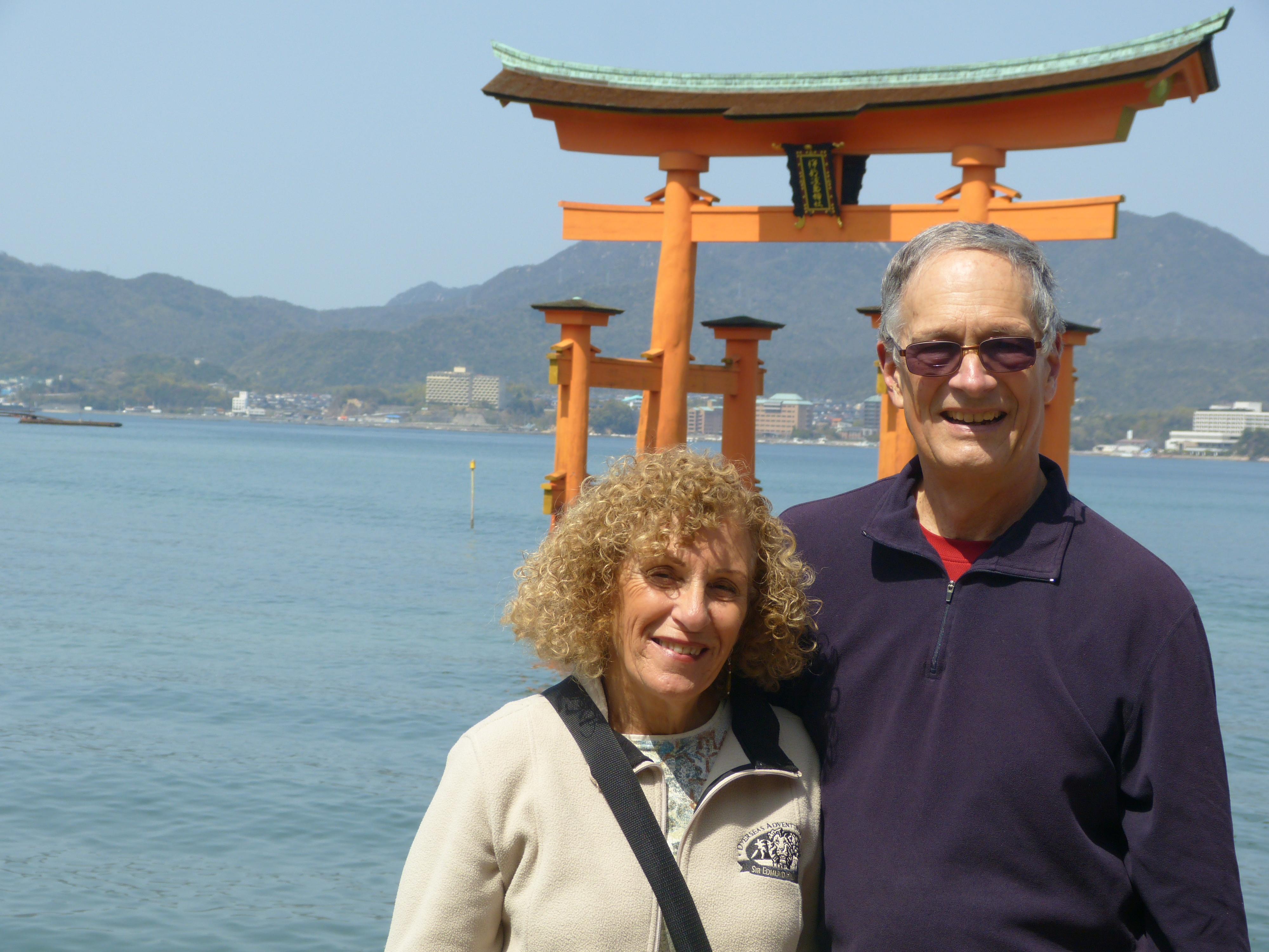 Miyajima, Itsukushima Shinto Shrine with Floating Torii Gate