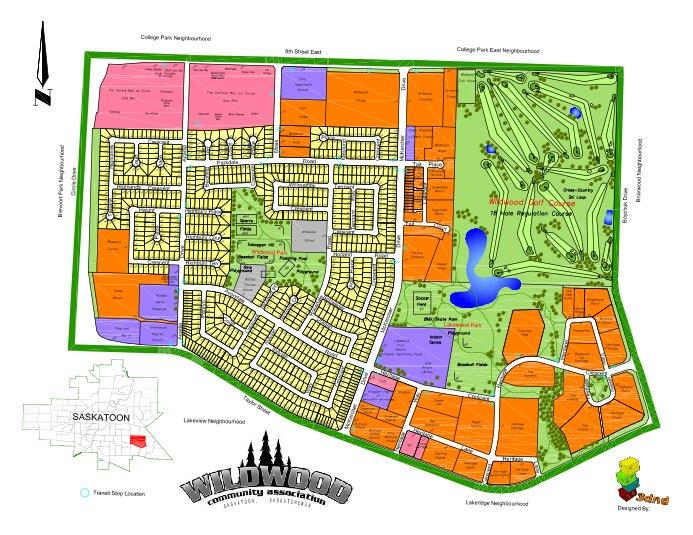 Map of Wildwood