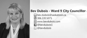 Bev Dubois, Councillor for Ward 9