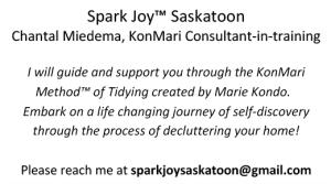 Spark Joy Saskatoon