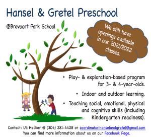 Hansel & Gretel Preschool