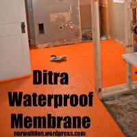 Ditra – Waterproof Membrane
